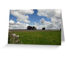 Countryside, Ireland Greeting Card