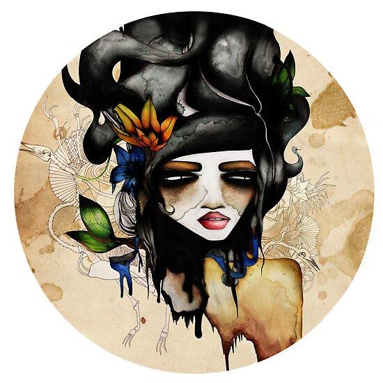 A Lady & her Bones., by RubyandWolf