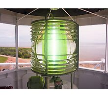 Fresnel Lens, West Point Lighthouse, PEI, Canada Photographic Print
