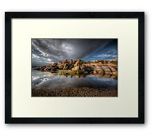 Point Of Reflection Framed Print