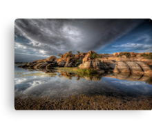 Point Of Reflection Canvas Print