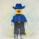 lego Cavalry Soldier by Deborah Cauchi