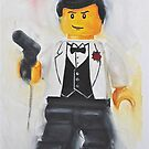 The lego Spy by Deborah Cauchi