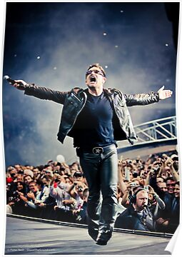 Bask - Bono in Paris by shootthesound