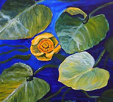 Lily Pad Series #2 by Cal Kimola Brown