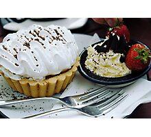Lemon Meringue Pie Photographic Print