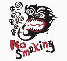 No Smoking - monster by Andi Bird