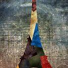 Eiffel Grunge by RenJean