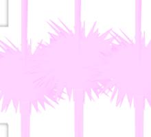 Three Christmas Flamingos  Sticker