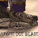 Chrome Ice Blades by Karol Livote
