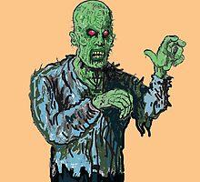 """Yuuurgh ! Zombie killll !"" by mattycarpets"