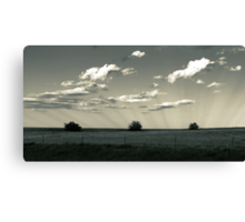 In the Shadows of the Clouds Canvas Print