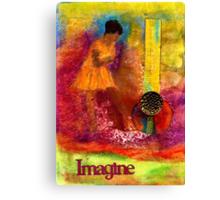 Imagine Winning Canvas Print