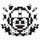 8 Bit Ink Blot - MegaMan by MightyRain
