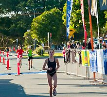 Kingscliff Triathlon 2011 Finish line B5947 by Gavin Lardner