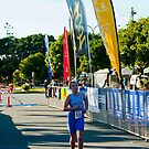 Kingscliff Triathlon 2011 Finish line B5959 by Gavin Lardner