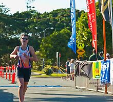 Kingscliff Triathlon 2011 Finish line B5992 by Gavin Lardner