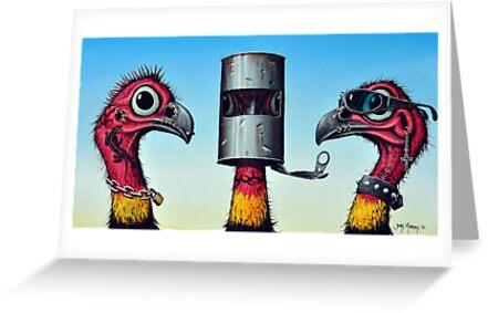 Outlaw Bush Turkeys by John  Murray