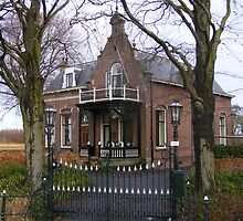 Old Dutch farmhouse. by Esther's Art and Photography