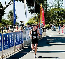 Kingscliff Triathlon 2011 Finish line B6196 by Gavin Lardner