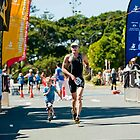 Kingscliff Triathlon 2011 Finish line B6223 by Gavin Lardner