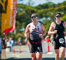 Kingscliff Triathlon 2011 Finish line B6290 by Gavin Lardner