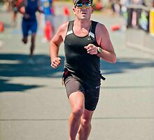 Kingscliff Triathlon 2011 Finish line B6302 by Gavin Lardner