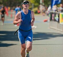 Kingscliff Triathlon 2011 Finish line B6303 by Gavin Lardner