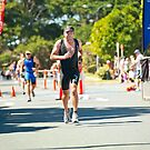 Kingscliff Triathlon 2011 Finish line B6316 by Gavin Lardner
