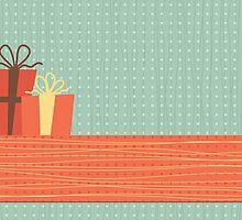 happy holidays by Anastasiia Kucherenko
