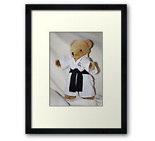 The Karate Kid (Ted) Framed Print