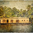 Kerala Backwaters, India  Forgotten Postcard by Alison Cornford-Matheson