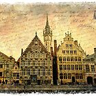 Ghent, Belgium  Forgotten Postcard by Alison Cornford-Matheson
