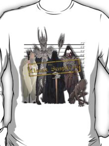 Lord of the Rings - The Usual Suspects: Villains T-Shirt