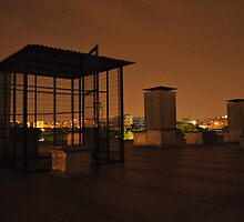 Rooftop with Cage by MrPetrubis
