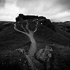Castell Dinas Bran by David Isaacson