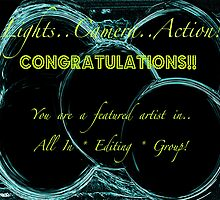 TEMP banner for All In *Editing* group. for featured artist by linmarie