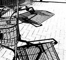 SHOPPING TROLLEYS by gothgirl