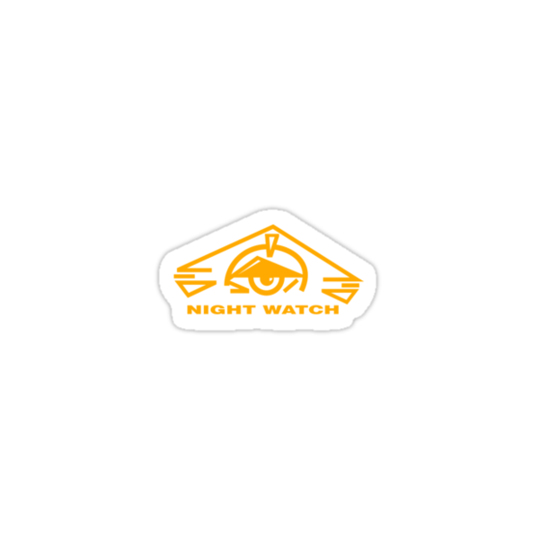B5 Night Watch Small Logo by Christopher Bunye