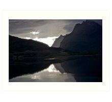 7 ★★★★★.Lofoten Magic landscape. . by Brown Sugar . Views (358) Thx! Art Print