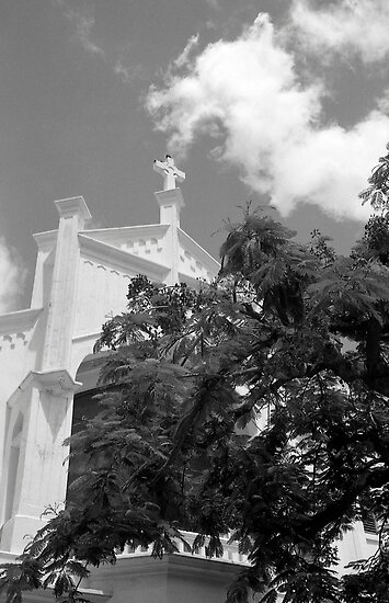 Key West Church by AnalogSoulPhoto
