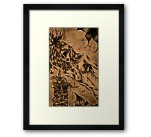 The Magus - An Alternative to Cover Framed Print