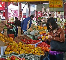 Queen Victoria Market, Melbourne. by Maggie Hegarty