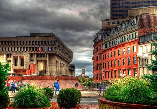 Boston City Hall by Monica M. Scanlan