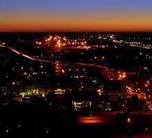 Nebraska State Capital Building Sunset by Christopher Hanke