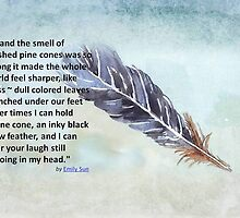 Crow Feather by Maree Clarkson