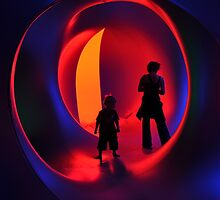 Stand-off at the Luminarium by Simon Bannatyne