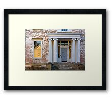 Urban Historia Framed Print