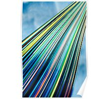 Candy Stripe Poster