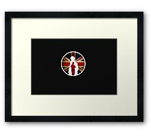 Queen and Country Framed Print